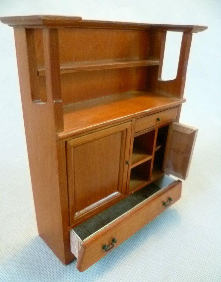 Dolls House Emporium Charles Rennie Mackintosh Dining Room Dresser 3413