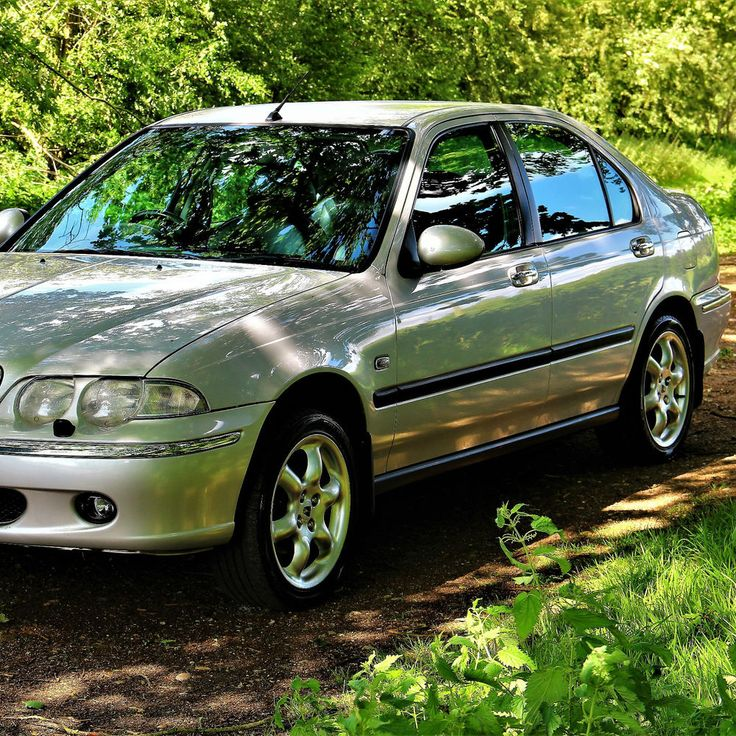 Rover 45 Connoisseur 2.0 Turbo Diesel Top Spec silver Alloys Leather AIR CON