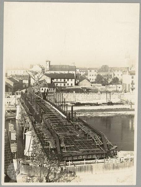 Most im. Józefa Piłsudskiego, 1930 r.  mhf.krakow.pl