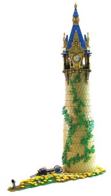 Rapunzel's Tower by Sir Nadroj on Flickr