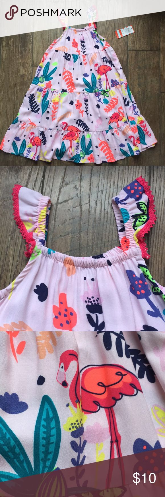 Flutter sleeve toddler maxi dress Flutter sleeves and very long. New and never worn! cat and jack Dresses