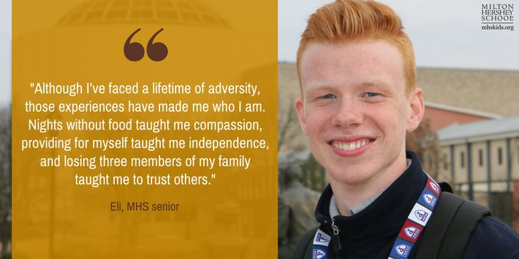 Read about Eli's inspiring journey of overcoming adversity.