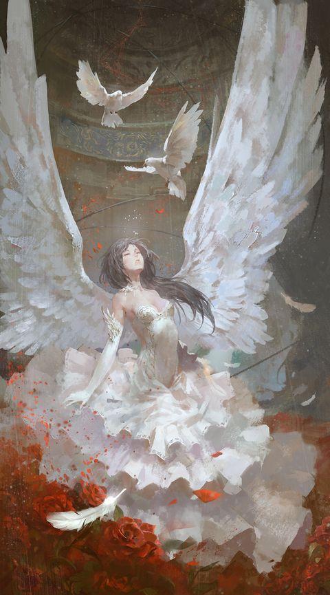 [pixiv] Female Angels - pixiv Spotlight