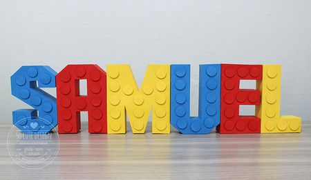 Letras 3D Lego                                                       …                                                                                                                                                                                 Mais