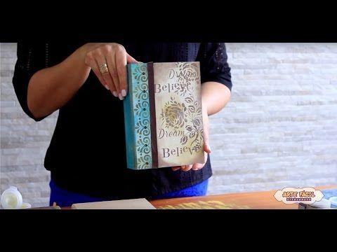 Faça Você Mesmo - Caxa Livro com Relógio - YouTube
