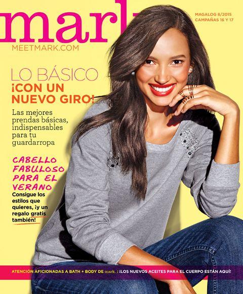 Folleto en línea Mark de AVON Campaña 17 2015 #cabellofabuloso #verano #mark