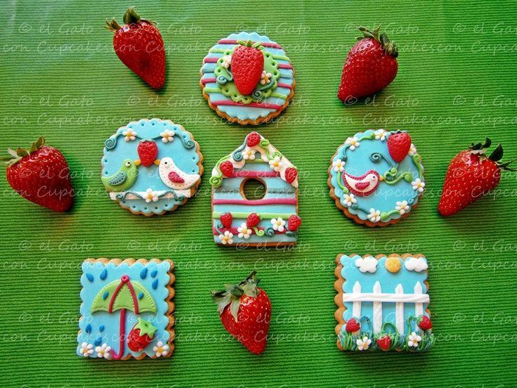 Galletas primavera / Spring cookies