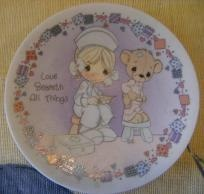 Baby Birth Plate Keepsake