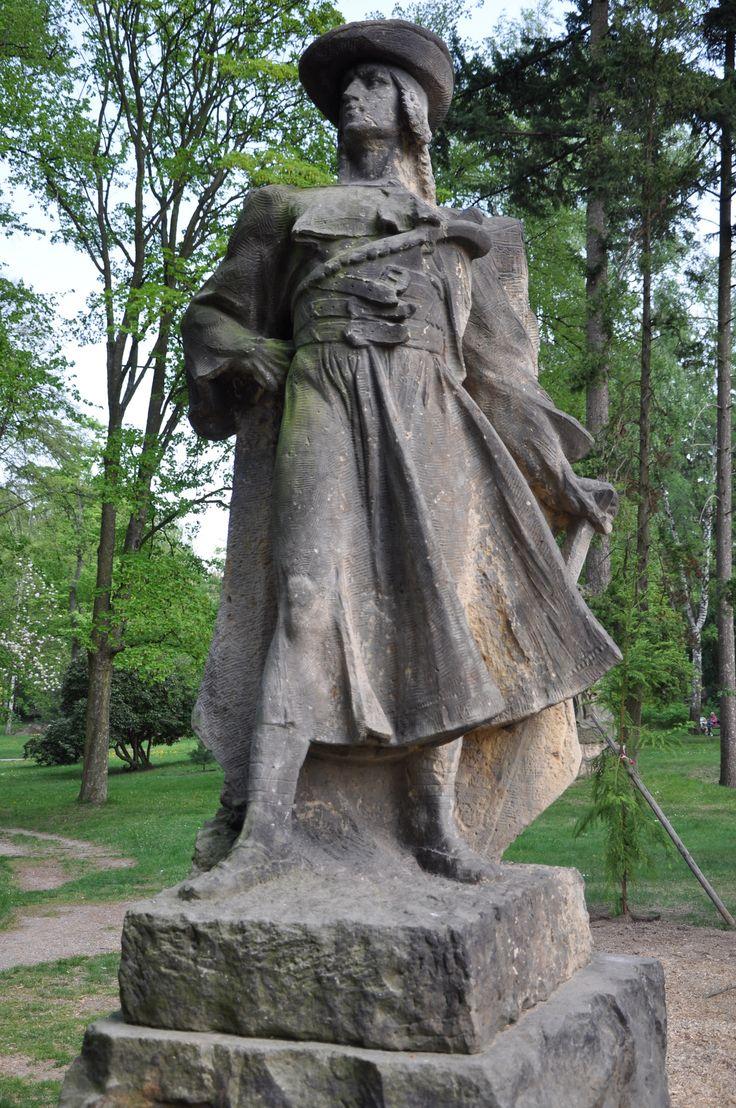 Juraj Jánošík (pol. Jerzy Janosik) was a famous Slovak highwayman. He's very popular semi-legendary character and often considered to be the national hero of Slovakia.