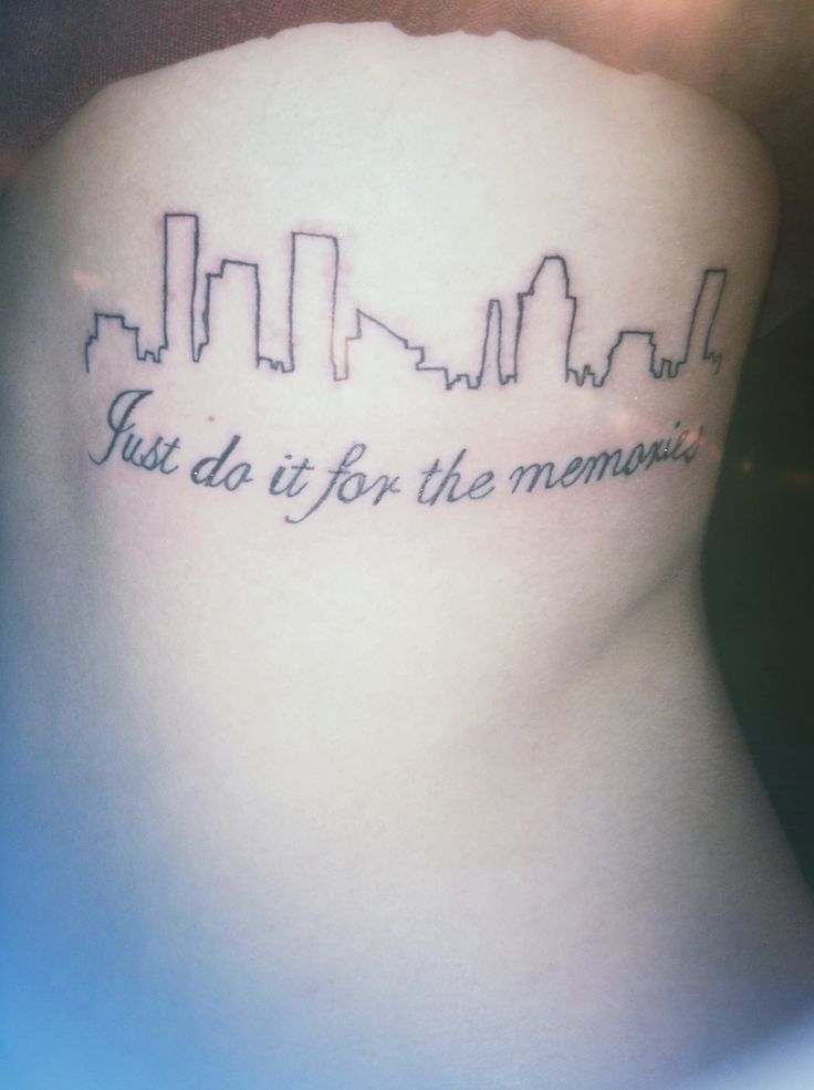 All Time Low - For Baltimore tattoo part 1 friend tattoo