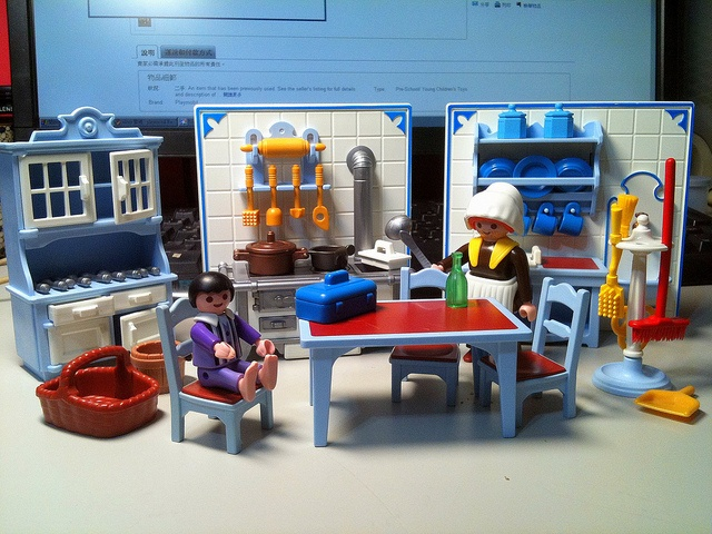 Playmobil: Victorian kitchen - was so proud of it...
