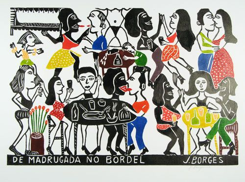 "Borges rich observation of daily life captures so many scenes at once in ""Daybreak at the Bordello."