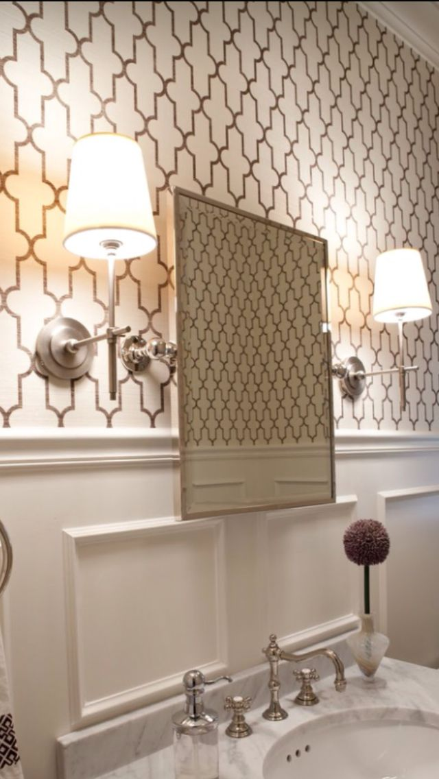 17 best images about phillip jefferies wallcoverings on for Funky bathroom wallpaper ideas