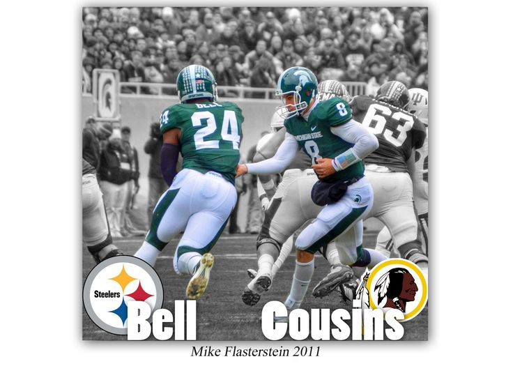 Kirk Cousins and Levon Bell