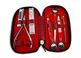 Manicure Set Women Premium Quality. Nail clippers toenail clippers nail file tweezers cuticle trimmer & personal scissors. Professional grade nail set precision tools BEST GIFT FOR HER Reviews