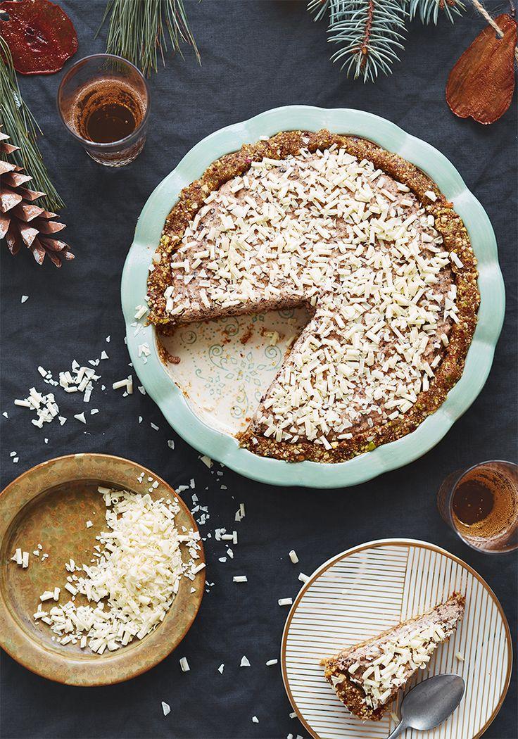 Cette recette de tarte sans cuisson est le dessert idéal à cuisiner pour une réception puisque vous pouvez la faire quelques jours à l'avance et la laisser au congélateur, ce qui vous donne plus de temps pour préparer le reste de votre menu.