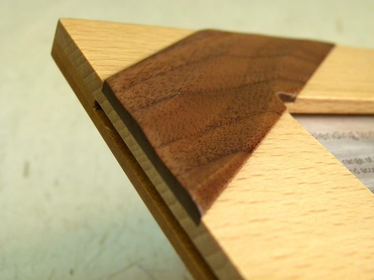 Kyoto Photo Frame detail. Pure Zen, this frame is made from solid Beech with an individually applied pattern.