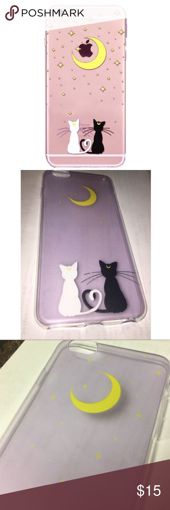 iPhone Soft Shell Case Brand new, in packaging. Silicone, Soft Shell back case. Available for the iPhone 7, iPhone 7 Plus, and iPhone 6/6s Plus. ⭐️Price Firm!!!!  ⭐️No trades ⭐️No lowballs or rude comments ⭐️Brands are 100% authentic ⭐️No returns for products that don't fit ⭐️I ship the same day or next ⭐️If I don't respond to your comment it's because the answer is here ⭐️DO NOT ASK FOR ADDITIONAL PICS OR MEASUREMENTS IF YOU ARE NOT SERIOUS ABOUT BUYING! Accessories Phone Cases