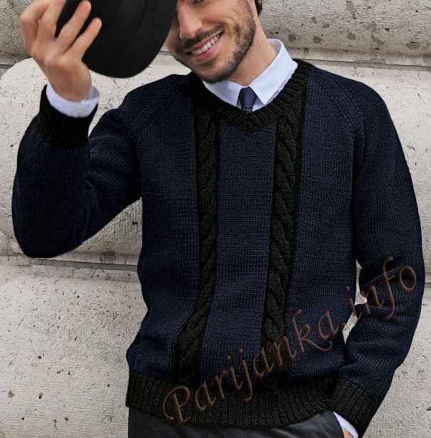 Пуловер (м) 691 Creations 2013/20014 Bergere de France №3871