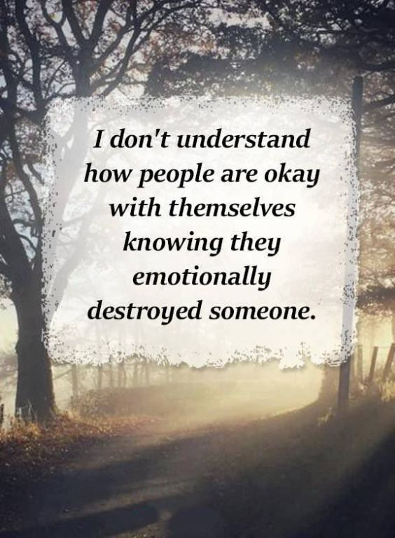 I really don't. Those kind of people are sad & pathetic. They don't deserve any happiness in life, for trying to destroy someone else's!
