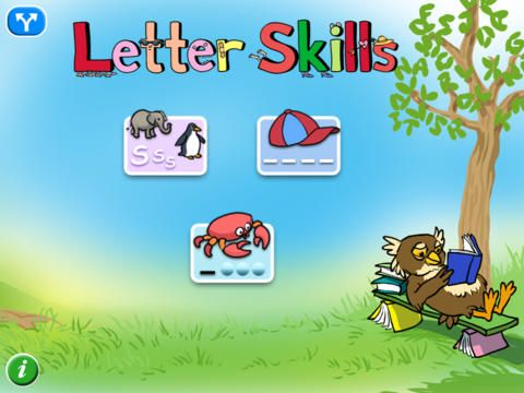 Letter Skills - early learning app.