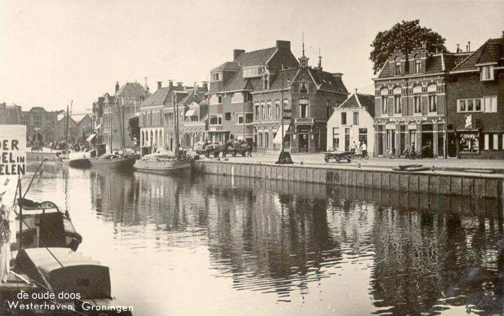 Westerhaven westkant voor de demping
