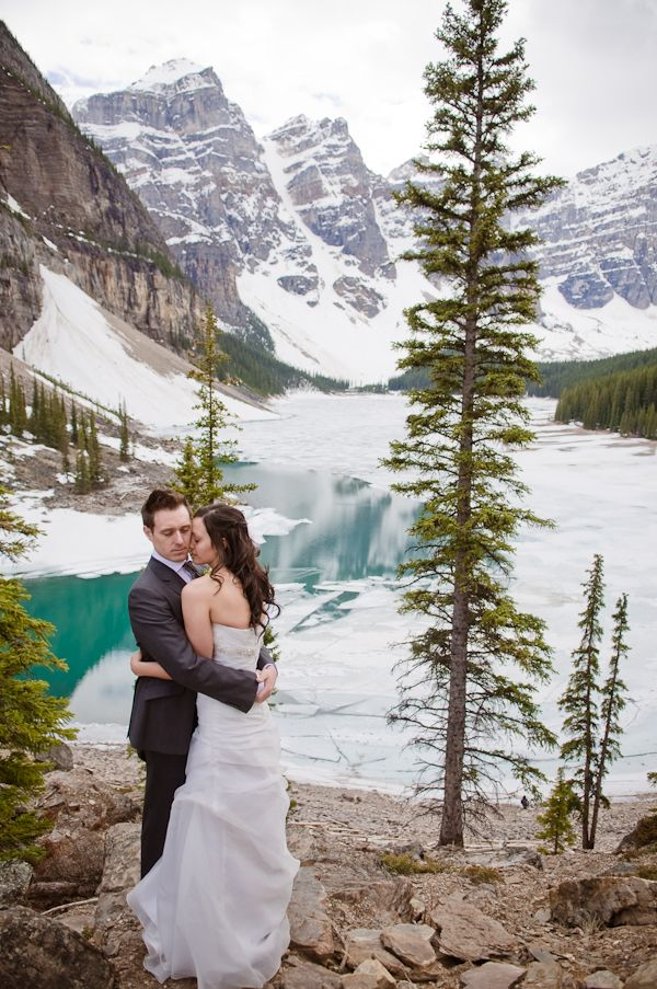 """Real couples have mountain weddings. """"A wise man, which built his house upon a rock"""" Matthew 7:24"""