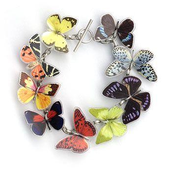 Grainne Morton :: Contemporary Handcrafted Bracelets :: Butterfly Bracelet