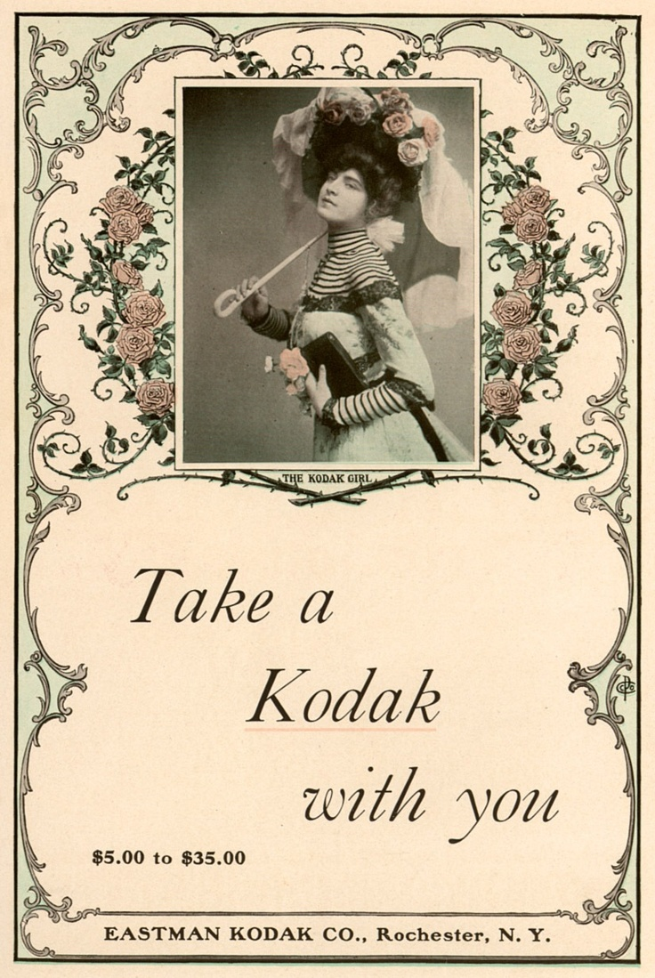 advertising and kodak Distribution, in turn, needed the support of strong advertising from the beginning , he imbued the company with the conviction that fulfilling customer needs and.