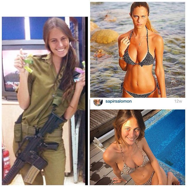 18 Pics Of Hot Israeli Army Girls IDF | Female Supermodel Soldiers