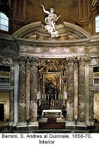 image of the s. andrea al quirinale interior | Bernini, St. Andrea al Quirinale interior, 1658-70 | Flickr - Photo ...