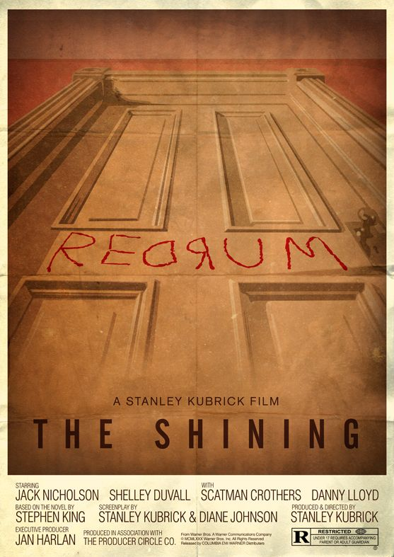The Shining. No movie could ever fully capture the creepiness of the Stephen King original, but Jack Nicholson et. al. sure come close. Shelly Duvall gets on my nerves, but then the little kid starts talking to his finger and pretty soon I'm checking all the locks on the windows, just in case.