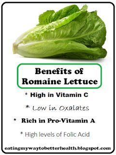 Benefits of Romaine Lettuce