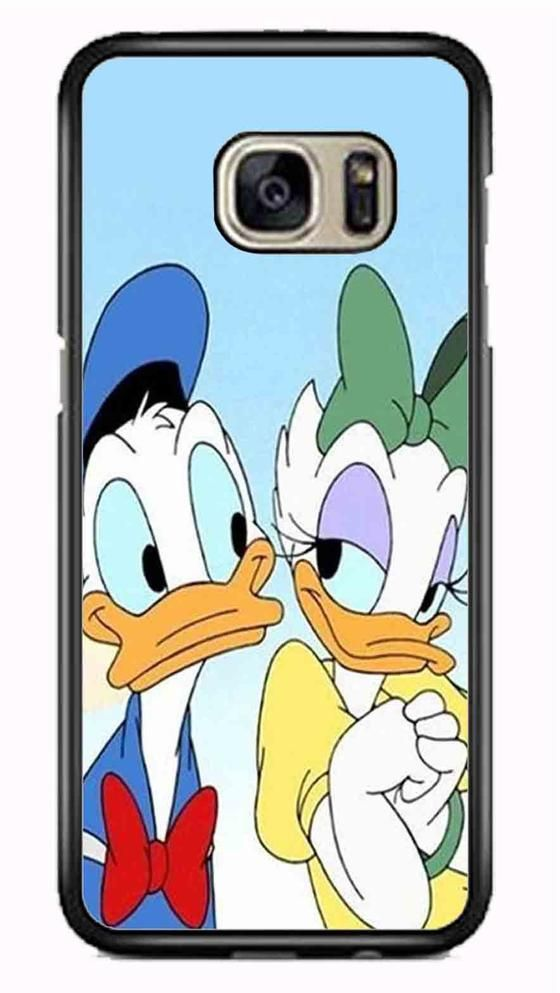 Donald And Daisy Duck Disney Samsung Galaxy S7 Edge Case