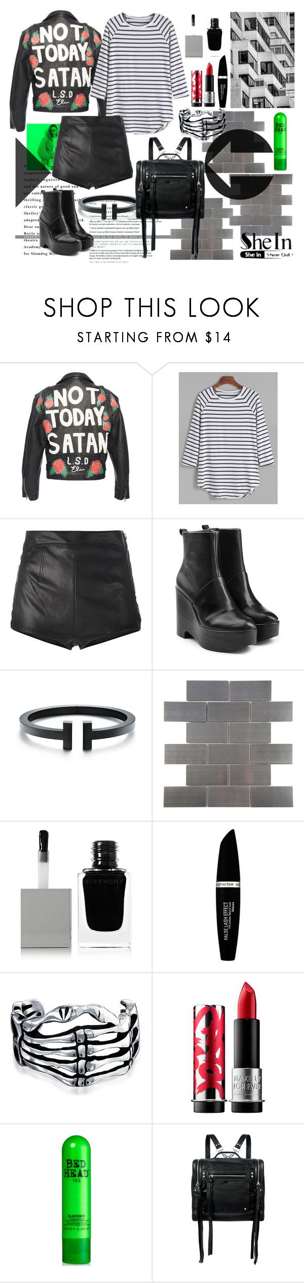 """""""not today"""" by ztugceuslu ❤ liked on Polyvore featuring HUGO, La Perla, Robert Clergerie, Merola, Givenchy, Max Factor, Bling Jewelry, MAKE UP FOR EVER and McQ by Alexander McQueen"""
