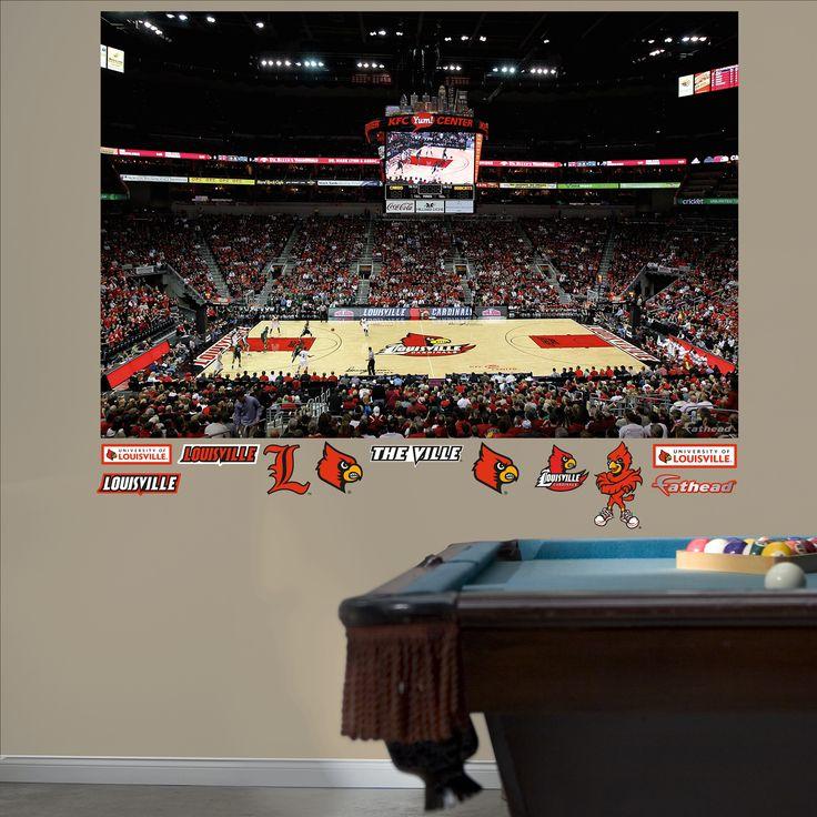 Louisville Basketball Mural - Yum! Center, Louisville Cardinals