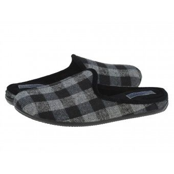 Papuci casa barbati Llama Gioseppo negro #homeshoes #cozy #Shoes