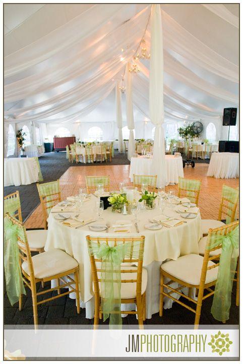 NH Wedding Photography | Searles Castle | Reception Area Table Settings & Decor |
