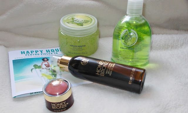 The Body Shop - Virgin Mojito & Honey Bronze