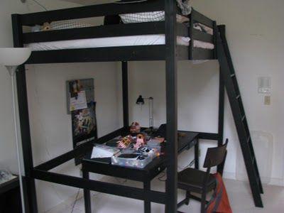 stora bed bracing ikea hackers kleine kamer. Black Bedroom Furniture Sets. Home Design Ideas