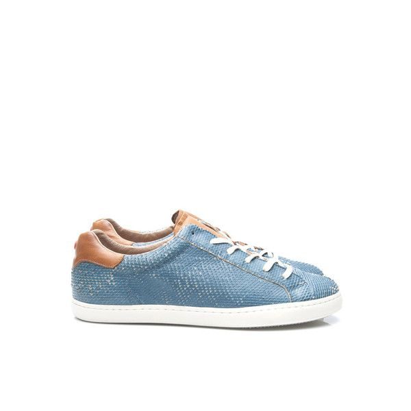 Nobrand Frank Blue Fish Sneakers | The Pepin Shop for carefully chosen design, fashion, furniture and wall decor products