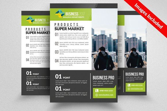 Geometric Flyer by Party Flyers on @Graphicsauthor Templates - geometric flyer template