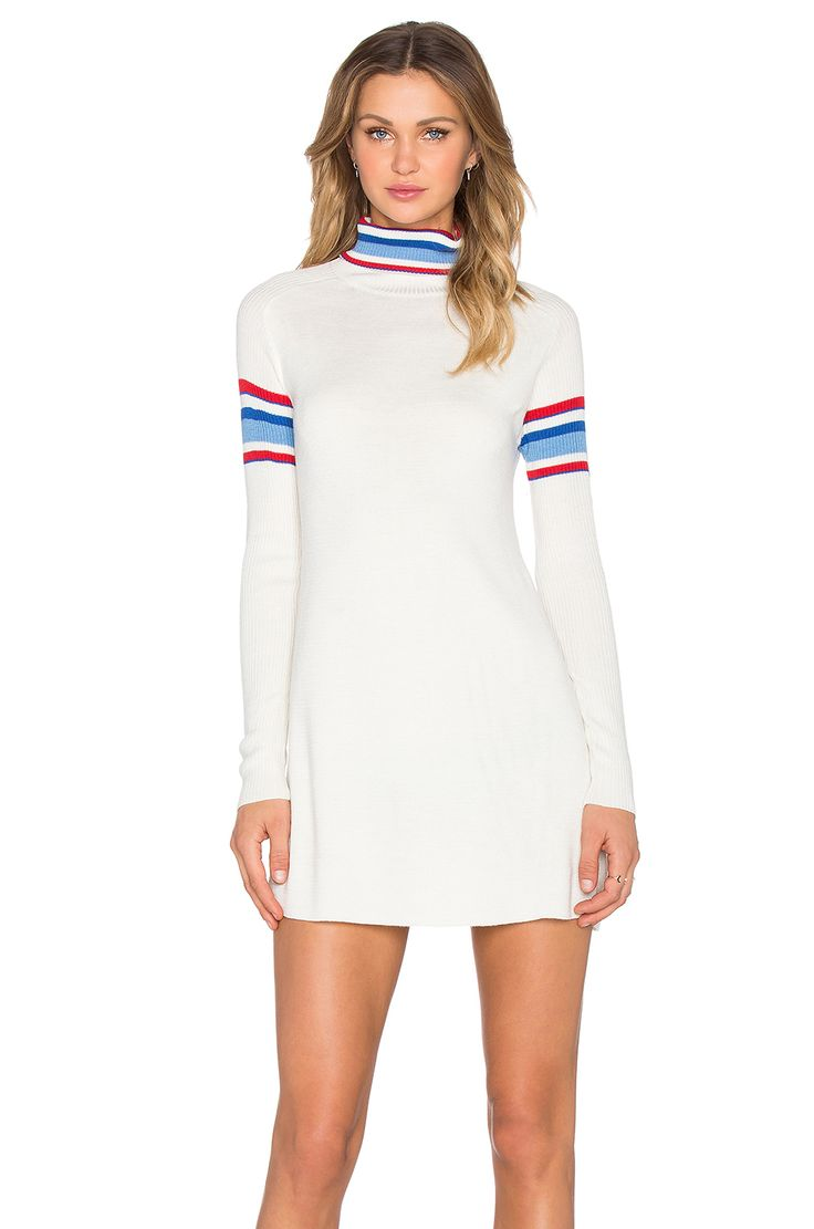 Johnny was long sleeve eyelet tunic in pink blush save 63 lyst - Unif Olympia Dress In White