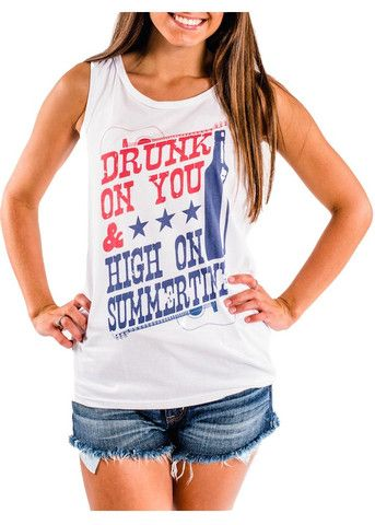 Perfect Tank Top for the Luke Bryan Concert!