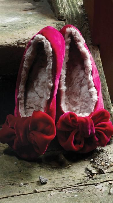 Satin slippers erotica websites