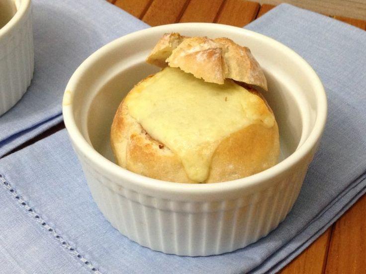 Mini pão italiano recheado com carne seca! Delicia de viver e comer!