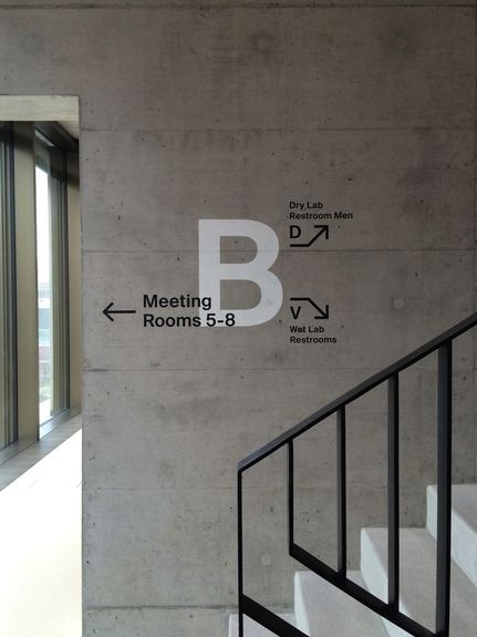 Medical Campus Building Signage Balgrist Campus Zürich