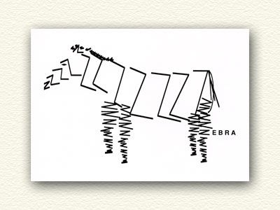 Zebra makes it easy to see why zebras have all those stripes.