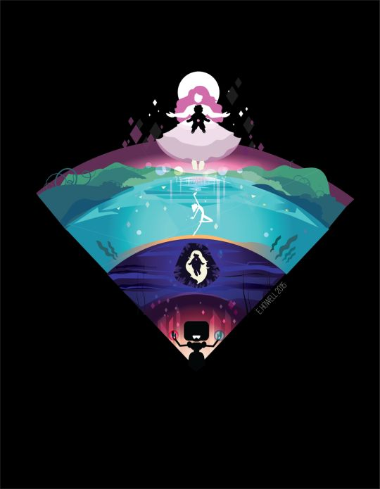 Steven universe gem generation areas shaped life a... wifi thing? idk but its awesome