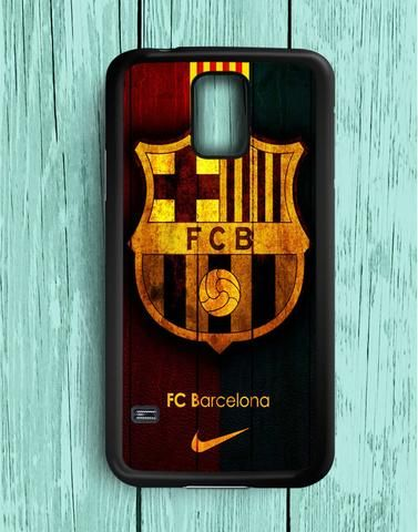 Fc Barcelona Wood Samsung Galaxy S5 Case